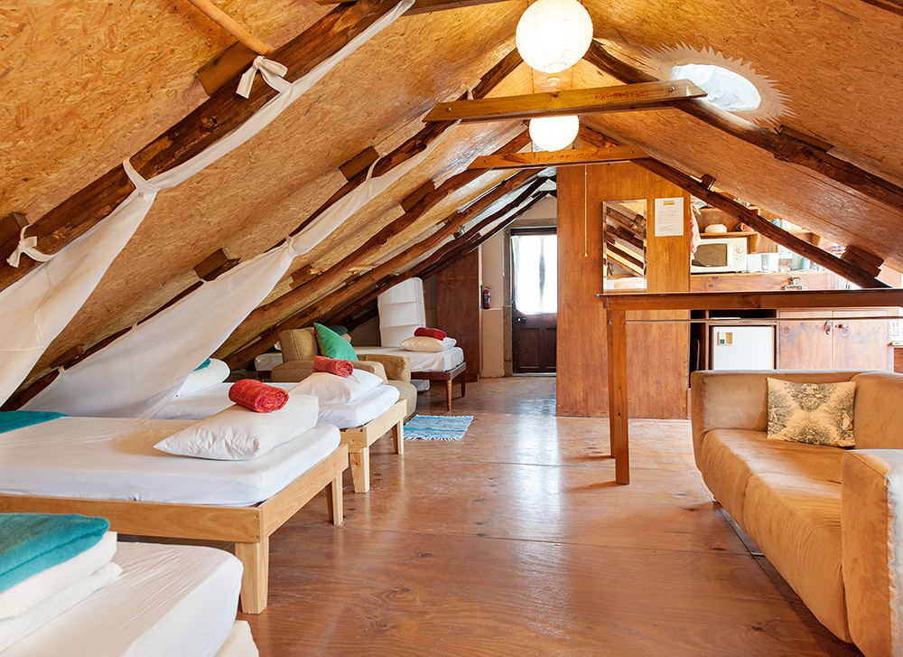 The Loft has Sleeping Area for 5 guests